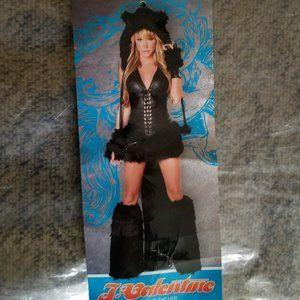 Black cat Halloween costume Size M